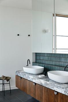 Modern Sink, Modern Bathroom, Bathroom Renos, Bathroom Renovations, Bathroom Inspiration, Interior Inspiration, Bathroom Interior Design, Family Bathroom, Interior Architecture