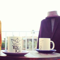 Tesla Mugs, to have a nice cup of coffee , available at www.kichink.com/stores/teslapox #kichink