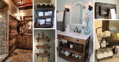 Reclaimed wood, galvanized metal, rough stone and cast iron are all part of rustic bathroom decor ideas. See the best designs and try them at home!