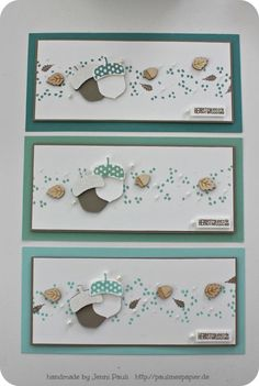 ACORNY THANK YOU - Stampin' Up