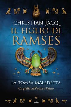 Nell'antico Egitto con il figlio di Ramses ... Un'ottima lettura. Il primo romanzo di una nuova saga. http://pupottina.blogspot.it/2016/02/la-tomba-maledetta-di-christian-jacq.html