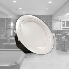 INITIAL-LED's most powerful downlight is the Commercial Downlight 20W, which has a light output equivalent to 200W. Rated at a lumen output of 1,500 lms, it delivers a consistent light output for ...