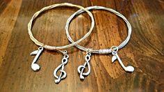 My new guitar string bangles upcycled strings. https://www.etsy.com/listing/219168594/upcycled-guitar-string-bangle-bracelet