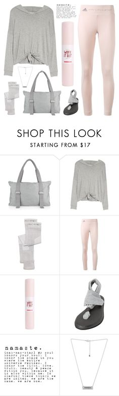 """Namaste"" by deepwinter ❤ liked on Polyvore featuring Beyond Yoga, adidas, Miss Selfridge, sanuk, Rachel Rachel Roy and yoga"