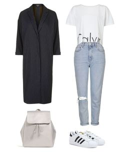 """""""Untitled #169"""" by museavenue on Polyvore featuring Topshop, Calvin Klein, adidas and Zara"""