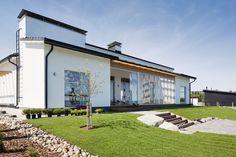 Kun talo saa sielunsa mereltä syntyy koti, Lammi-Kivitalo Villa Senior.