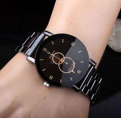 Relógio Kevin Diamond - Dali Menina Mulher