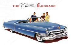 vintage home ads | Plan59 :: Classic Car Art :: Vintage Ads :: 1953 Cadillac Eldorado