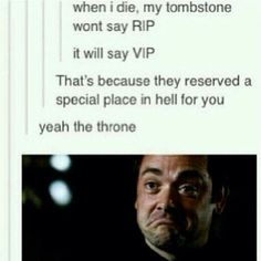 Haha Crowley is impressed