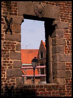 Vieux Lille, Hospice Comtesse. Les vestiges du Moulin Saint Pierre.