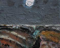 full moon by Sandy Murphy