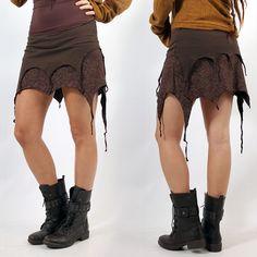 """JUPE EXCEPTION """"SANANDA"""" •• Pixie Tribal Amazon Look ❃ (35€)"""