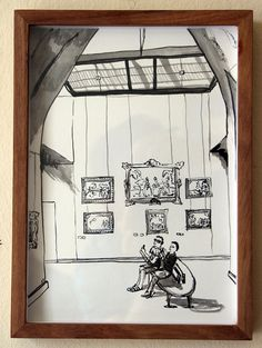 Past Exhibitions — The Voorkamer Gallery Watercolour, Breathe, Past, Louvre, Ink, Gallery, Drawings, Pen And Wash, Watercolor Painting