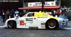 Le Mans 24 Hours 1985 85T - Mazda 727C #005 (Mooncraft) - Mazdaspeed Co. Ltd.