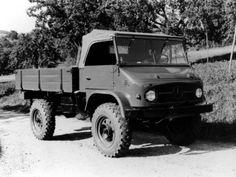 Mercedes-Benz Unimog 404 S (Br.404) '1955–56