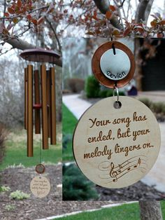 Music Speaks Memorial Wind Chime Provide Comfort Music Gift Custom Copper Gift After Death of Child Loss Of Mom Dad or Loved One In Memorial Ornaments, Memorial Gifts, Memorial Ideas, Memorial Wind Chimes, In Memory Of Dad, In Memory Of Gifts, Funeral Gifts, Copper Gifts, Child Loss