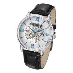 $97 Stuhrling Original Men's Chamberlain Mechanical Leather Strap Watch | Overstock.com Shopping - Big Discounts on Stuhrling Original Men's Stu...