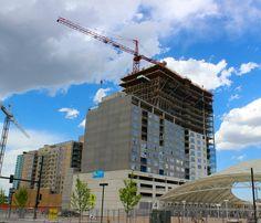 Construction that Revitalizes in Denvers LoDo - Conco Mountain View, Rocky Mountains, Denver, Construction, City, Building, Places, Travel, Viajes