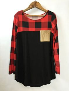 Buffalo Plaid Pocket Shirt
