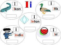 bahasa malaysia tahun 1 latihan kata nama am 4 tahun satu pinterest malaysia