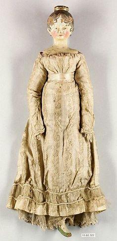 Wood Doll; Grodnertal,