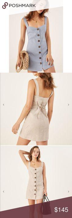 c837a15bf759 Reformation Shetland Dress - linen mini dress