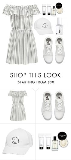 """""""Day Out"""" by shirley2801 ❤ liked on Polyvore featuring Essie, H&M, Vans and Bobbi Brown Cosmetics"""
