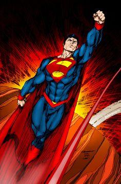 #Superman #Fan #Art. (Man of Steel) By: Archaeopterix14. (THE * 5 * STÅR * ÅWARD * OF: * AW YEAH, IT'S MAJOR ÅWESOMENESS!!!™)[THANK U 4 PINNING!!!<·><]<©>ÅÅÅ+(OB4E)