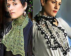 Crochet Lace Scarves