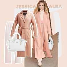 Jessica Alba - All about coral by AMAZE Celebrities