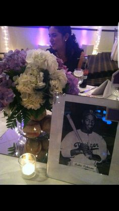 Center pieces. Vintage Baseball Players