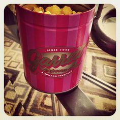 """Garrett Popcorn # ChiTown""  i love popcorn~"