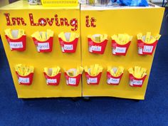 I'm loving it - adjective teaching display