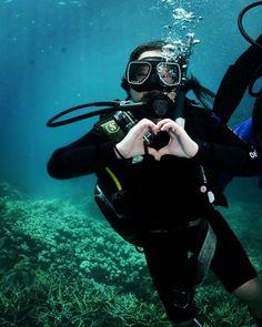 Hello Great Barrier Reef :) #cairns #australia #greatbarrierreef #scubadiving #ilovetheocean by willfulwanderer http://ift.tt/1UokkV2