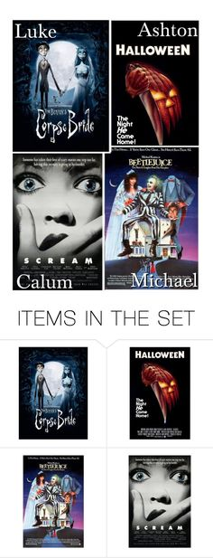 """""""The Halloween Movie You Watch Together!"""" by x5sosxpreferencesx ❤ liked on Polyvore featuring art"""