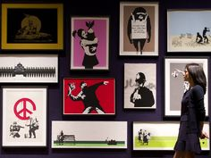Banksy prints sell for £435,000 at auction