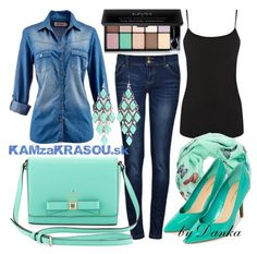 Džínsová košeľa - KAMzaKRÁSOU.sk #demin #fashion #whattowear