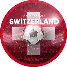 New Telfie App Stickers For UEFA EURO 2016: SWITZERLAND