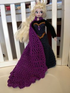 Elsa's Coronation Dress ~ Free Crochet Pattern! :) | Cogaroo Crafts
