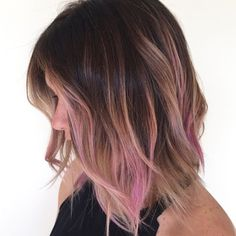 EASE INTO PINK WITH OMBRE