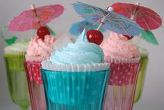Cocktail Cupcakes...gluten free