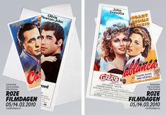 Lernert & Sander — Pink Film Days (Amsterdam Gay & Lesbian Film Festival) #grafica #poster #cinema