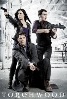 Torchwood season 3..Just the three of them now :( plus Rhys of course. R.I.P. Tosh and Owen