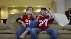 WIFE WATCHES FOOTBALL (Modern Marriage Moments) - Comedy Videos