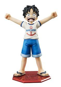 Crunchyroll - Monkey D Luffy - Excellent Model MILD Portrait Of Pirates One Piece