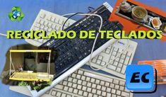 Que  podemos hacer con un teclado viejo (Reciclado)  Desafio a Tecnofany
