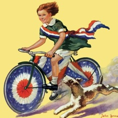 Remember dressing our bikes for a parade at Potomac View Elem...