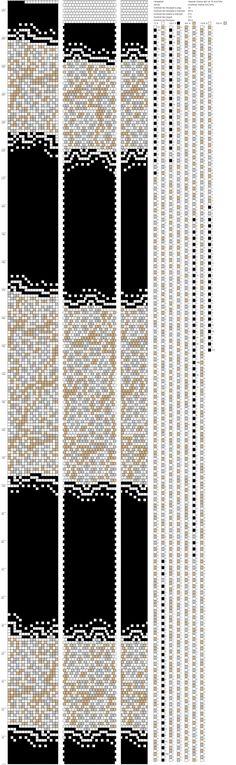 Foto Bead Crochet Patterns, Bead Crochet Rope, Beading Patterns, Loom Bracelet Patterns, Loom Bracelets, Beaded Crafts, Beaded Jewelry, Jewellery, Beading Tutorials