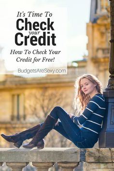 When was the last time you checked your credit?  Did you know that you can check your #credit for free with USAA, Credit Sesame, Credit Karma, and Quizzle?  http://www.budgetsaresexy.com/2015/03/check-free-credit-score-report/