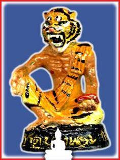 Por Pu Ruesi Garlasit (Tiger Ruesi) - LP Samang, Wat Bang Phra | $55.00 USD